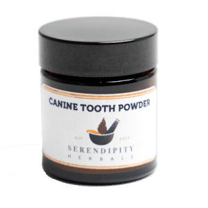 Canine Tooth Powder