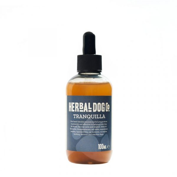 Herbal Dog Co All Naural HerbaCalm Calming Drops For Stressed, Anxious And Reactive Dogs